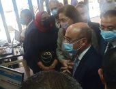 وزيرا العدل والتخطيط يفتتحان أول شهر عقارى مميز بخدمات vip بالإسكندرية