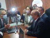 وزير العدل من الإسكندرية: مكتب مميز للمواطنين لتقديم خدمات الشهر العقارى
