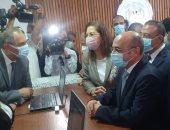 وزيرة التخطيط من الإسكندرية: 3 سيارات متنقلة للشهر العقارى للأهالى لتقليل الكثافة