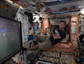يورو 2020.. رائد فضاء فرنسى يشاهد مباراة الديوك والبرتغال من المحطة الدولية