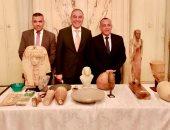 """""""الأعلى للآثار"""": القطع الأثرية المستردة من فرنسا تعود إلى مصر خلال أيام.. صور"""