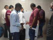 لجنة فحص الأغذية بمستشفى العديسات للأطفال تشيد بمستوى الخدمات