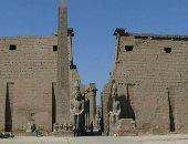 كيف عادت واجهة معبد الأقصر لعصور الفراعنة بعد نهاية ترميم تماثيل رمسيس الثانى؟