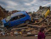 إعصار إن-فا يهبط على اليابسة للمرة الثانية شرقى الصين