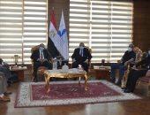 رئيس جامعة كفرالشيخ  يترأس لجنة اختيار عميد كلية الزراعة بحضور وزير الزراعة الأسبق