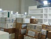 وصول شحنات كتب الناشرين السوريين بأجنحة معرض القاهرة للكتاب.. صور
