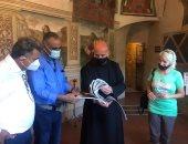 """إعلان تدشين """"المسار المقدس المصرى الإيطالى"""" فى روما.. صور"""