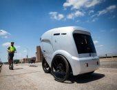 روبوتات لتوصيل البيتزا للمنازل تثير الجدل في ولاية تكساس
