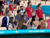 """بلجيكا ضد البرتغال.. جورجينا تدعم كريستيانو رونالدو من مدرجات يورو 2020 """"صور"""""""
