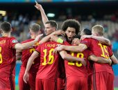 منتخب بلجيكا بالبدلاء أمام روسيا البيضاء فى تصفيات كأس العالم