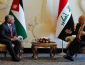 العاهل الأردنى يشدد على وقوف المملكة إلى جانب العراق فى تعزيز أمنه واستقراره