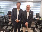منتصر النبراوي يستقبل النائب أحمد عثمان ويؤكد على العلاقات الطيبة مع الإسماعيلي