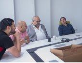 """كواليس ظهور هشام ماجد مع بيومى فؤاد فى """"عودة الأب الضال"""" .. صور"""