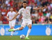يورو 2020.. بوسكيتس يقتحم قائمة أكثر 5 لاعبين مشاركة فى تاريخ إسبانيا