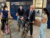 مكتب الهجرة الدولية بمصر يستبدل السيارة الرسمية بـ3 دراجات لانتقال الموظفين