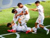 يورو 2020.. منتخب إسبانيا يعادل أفضل سجلاته التهديفية بعد تخطى سويسرا