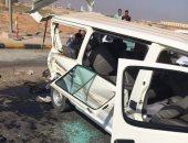 إصابة 8 أشخاص فى حادث تصادم أتوبيس وميكروباص بالعاشر من رمضان