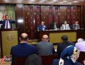 """""""صحة النواب"""" توصى بالانتهاء من أعمال تطوير وتجديد مستشفى الصدر بالجيزة.. صور"""