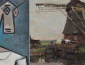 العثور على لوحة بيكاسو فى أثينا بعد سنوات من سرقتها