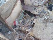 الحماية المدنية بالإسكندرية تنقذ شخصا من تحت أنقاض عقار الدخيلة المنهار