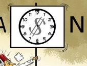 """الأزمة الاقتصادية اللبنانية في كاريكاتير صحيفة """"الخليج"""" الإماراتية"""