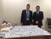 جمارك مطار القاهرة تضبط تهريب كمية من الأدوية البشرية