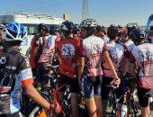 توزيع دراجات على الفائزين بالمهرجان الرياضى فى احتفالية 30 يونيو