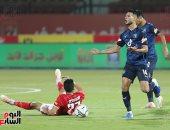 انطلاق مباراة الأهلي وبيراميدز فى الدوري المصري