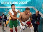 رونالدو ومبابي يقودان تشكيل كتيبة النجوم خارج ربع نهائي يورو 2020