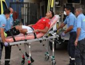فريق دجلة يزور لاعب منتخب الشباب بالمستشفى بعد جراحة الوجه