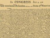 """تزامنا مع ذكراه الـ245.. بيع نسخة لإعلان استقلال أمريكا بـ4.4 مليون دولار """"صور"""""""