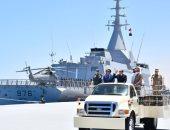 الرئيس السيسي يوقع وثيقة إنشاء قاعدة 3 يوليو البحرية
