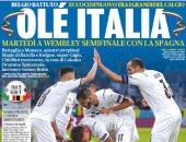تأهل إسبانيا وإيطاليا لنصف نهائي بطولة اليورو الأبرز فى صحف العالم.. صور