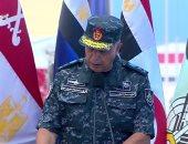 قائد القوات البحرية: قاعدة 3 يوليو رسالة سلام وتنمية بالمنطقة بالكامل