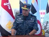 قائد القوات البحرية: قاعدة 3 يوليو الأكبر فى مصر بمساحة 10 ملايين متر مربع