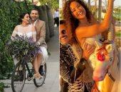 الزواج على الطريقة الحديثة.. مشاهير كسروا التابوه بحفلات زفاف غير تقليدية