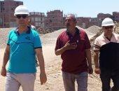 حياة كريمة بالمنوفية.. رئيس مدينة أشمون يعاين أماكن إقامة المجمعات الزراعية