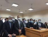 """خالد أبو بكر: تأجيل قضية """"إيفرجيفن"""" أسبوعًا لإنهاء التسوية.. فيديو وصور"""