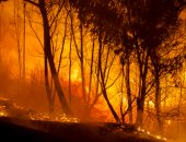 سوريا تعلن إخماد حريق امتد من الأراضى اللبنانية باتجاه بلدة أكوم بريف حمص