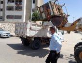 """رئيس جهاز """"الشروق"""": شن حملة مكبرة لرفع وإزالة الإشغالات بالمجمعات التجارية"""