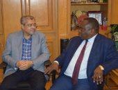 رئيس اتحاد الغرف التجارية يستقبل مسئولى غرفة كينيا.. ويؤكد ضرورة زيادة التعاون