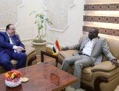 عضو مجلس السيادة السودانى يبحث مع السفير المصرى بالخرطوم تعزيز العلاقات
