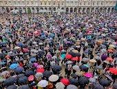 مظاهرات فى إسبانيا اعتراضا على مقتل شاب مثلى على يد 7 أشخاص.. صور