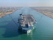 بريطانيا عن عبور حاملة الطائرات الملكة إليزابيث قناة السويس: لحظة تاريخية