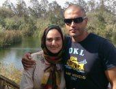 بطل معركة البرث.. أحمد منسى مع زوجته وأطفاله فى لحظات أسرية بذكرى استشهاده