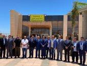 رئيس موانئ البحر الأحمر يستقبل وفد نقل النواب فى مطار شرم الشيخ.. صور
