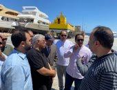 """رئيس موانئ البحر الأحمر لـ""""نقل النواب"""": نخطط لمضاعفة حجم تداول البضائع والحاويات.. صور"""