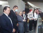 وفد لجنة الإعلام والثقافة بمجلس النواب يزور مكتبة الإسكندرية