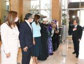 الرئيس السيسى يصل مقر المؤتمر الوزارى الثامن للتعاون الإسلامى الخاص بالمرأة