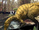 اكتشاف بقايا لنوع غير معروف من الديناصورات فى إسبانيا